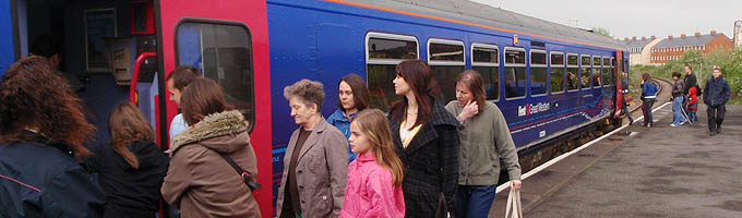 Save the Melksham Train